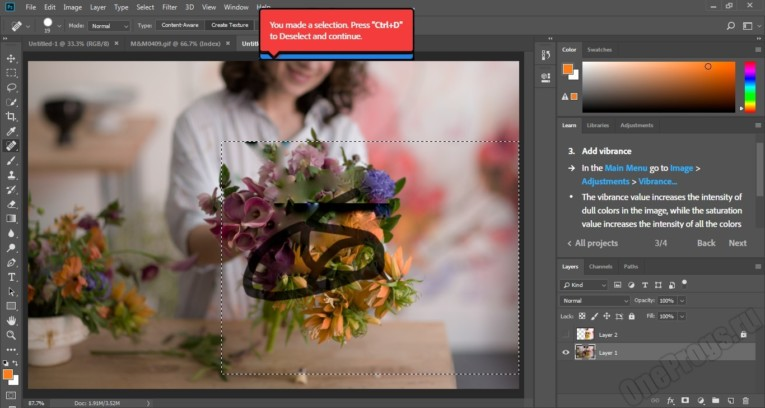 Adobe Photoshop - Скриншот 4