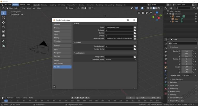 Blender - Скриншот 2