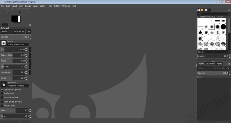 GIMP - Скриншот 1