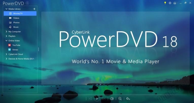 PowerDVD - Скриншот 1